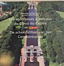 2007 Belgium 8 coins Medal Euro Set World Heritage Boat Lifts Canal Du Centre