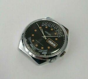 ☭ Watch Raketa Perpetual Calendar 2628.H Russia USSR Vintage Original SERVICED