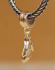 Pompe Di Scarpe Gala Donna 925 Sterling Silber European Ciondolo Perlina