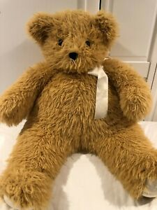 """Vermont Teddy bear World's Softest Bear 25""""excellent condition 2 weeks old."""