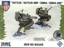 FFG DUST TACTICS ALLIES BOITE MCW M3 WALKER PLASTIQUE