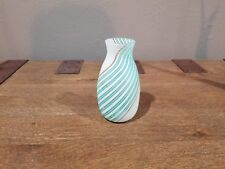 Vintage Murano Glass Filigrana Vase By Dino Martens, Published