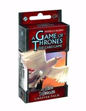 A Game Of Thrones Lcg A Dire Message Chapter Pack Game Fantasy Flight FFG GOT107