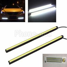 2pcs LED COB DRL Daytime Running Light Car Fog Driving Turn Lamp12v Waterproof