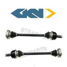 BMW 325i E46 Z4 E85 Pair Set of Rear Left and Right Axle Shaft Assemblies GKN