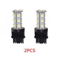 2 X White 3157 3156 3057 3457 18SMD 5050 LED Bulb Brake Reverse Back up Light  W