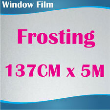 137CM x 5M Privacy Frosted Frost Frosting Window Film Sticker