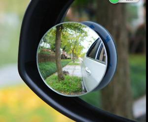 2 Pcs Blind Spot Frameless Glass Wide Angle Convex Mirrors 4 Car UTE Truck