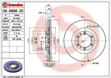 Disc Brake Rotor-Premium OE Equivalent Rotor Front Brembo 09.6866.20