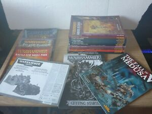 Bundle of 19 Warhammer -Codex, Guides, Strategy/Rules Books