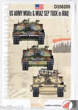 Echelon Fine Details US Army's M1A1s & M1A2 SEP TUSK in IRAQ 1/35 decals