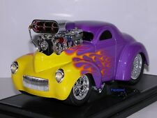 Muscle Machines 1941 Willys Coupe 41 Drag Racing Hemi Limited Release 1:18