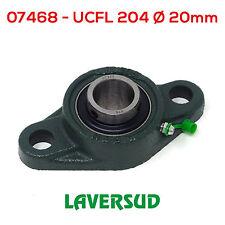 Supporto UCFL 204 con Cuscinetto Autoallineante Ø Diametro 20mm UCFL204