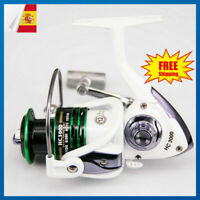 12+1BB Carrete de pesca tambor fundido rodamientos de bola Carretel HC1000-7000
