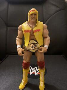 WWE Mattel Figure Lot Defining Moments Elite Hulk Hogan Complete Belt Wrestling