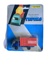 Vintage TUF- TOYS Die Cast Metal Free Wheel Refrigeration Truck New Carded (780)