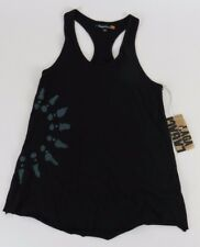 Lagaci Sport Womens Small Racerback Tank Top Shirt Black NWT