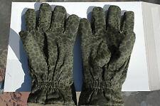 Unissued Polish Army Puma Camo Gloves Army Surplus - Medium Size