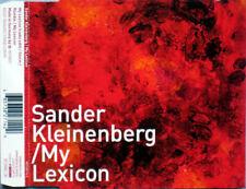 Sander Kleinenberg – My Lexicon 4 Track CD Single CLASSIC PROGRESSIVE HOUSE