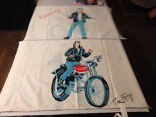 Vintage The Fonz Happy Days Pillowcases. Set Of 2