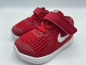 Nike Child Size 3C Revolution 4 (TDV) Toddler Shoes Red 943304 601 New!
