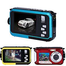 "2.7"" Digital Camera 24MP 16x Zoom Dive Full HD Video Camera Camcorder Waterproof"