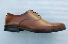 Kenneth Cole Reaction Mens Sz 11 Leather Wingtip Lace Up Oxford Shoes