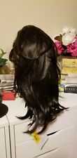 GLAMOUR MONO Wig by ELLEN WILLE Espresso Mix Lace Front Mono Part NEW