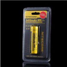 1Pcs Nitecore Nl1835Hp High Performance 18650 3400mAh 3.6V 8A Protected Battery