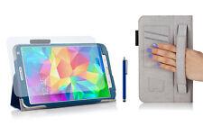 Funda para Samsung Galaxy Tab S (T700) - 8.4'' - Azul + lápiz + protector