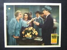 CHARLIE CHAN'S MURDER CRUISE '40 SIDNEY TOLER AS FAMOUS DETECTIVE WITH SUSPECTS