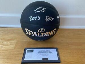 Luka Doncic Dallas Mavericks Signed Autographed ROY Basketball Ball w Panini COA