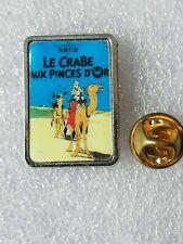 Pin's Pins Tintin et Milou bd Hergé comic strip le crabe aux pinces d'or
