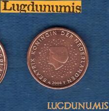 Pays Bas 2008 2 Centimes d'euro SUP SPL Pièce neuve de rouleau - Netherlands
