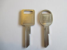 GM KEY BLANKS 68 72 76 80 CHEV IMPALA CAMARO NOVA CHEVELLE CORVETTE FIREBIRD