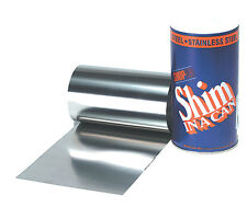 """.0015"""" Stainless Steel Shim Stock Roll"""