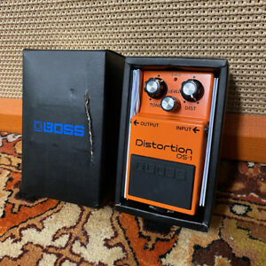 Boss Distortion DS1 Guitar Effects Pedal w/ Original Box Unused