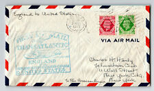 Gb 1939 Ffc London to New York / Light Creasing - Z13824