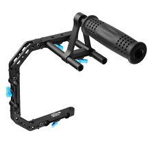 FOTGA DP3000 C-Shaped Cage Bracket +Top Handle Grip Kit M2 for 15mm Rod DSLR Rig