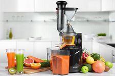 Aicok Licuadora de Prensado Frio, Frutas y Verduras Boca Ancha Motor Silencioso