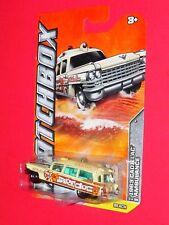 2012 Matchbox  1963 CADILLAC AMBULANCE  #11  Beach Patrol Surf Doc   W4833