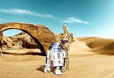 Komar Star Wars Fotomurali 8-484 Perso Droids 368 x 254 cm Immagine Murale con