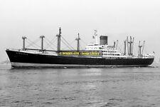 mc1813 - Glen Line Cargo Ship - Glenogle , built 1962 - photo 6x4