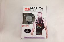 NEW! MIO Motiva ECG Accurate Strapless Heart Rate Monitor W/Extra Band Watch NIB