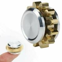 MINI Fidget Spinner Alloy Gear Copper Figet Spinner Antistress Hand Toy For ADHD