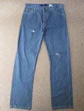 Kurt Muller Straight Fit Distressed Blue Jeans W33 / L33.5