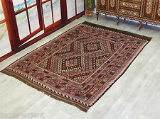 272x193 cm orient Teppich Afghan Uzbek Nomaden Planzenfarbe kelim kilim No:237