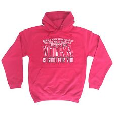 Vodka Is Good For You Funny Joke Bar Pub Adult HOODIE