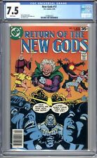 New Gods #17 - CGC Graded 7.5 (VF-) 1978 - Bronze Age