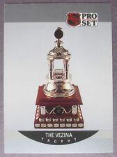 1990-91 Pro Set Vezina Trophy #391 Patrick Roy Montreal Canadiens
